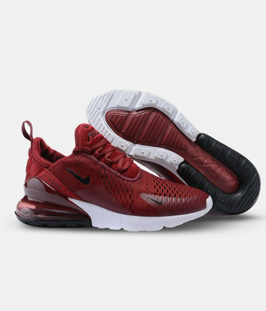 3261db9b4d Nike AIR MAX 270 Red Running Shoes - Buy Nike AIR MAX 270 Red Running Shoes  Online at Best Prices in India on Snapdeal