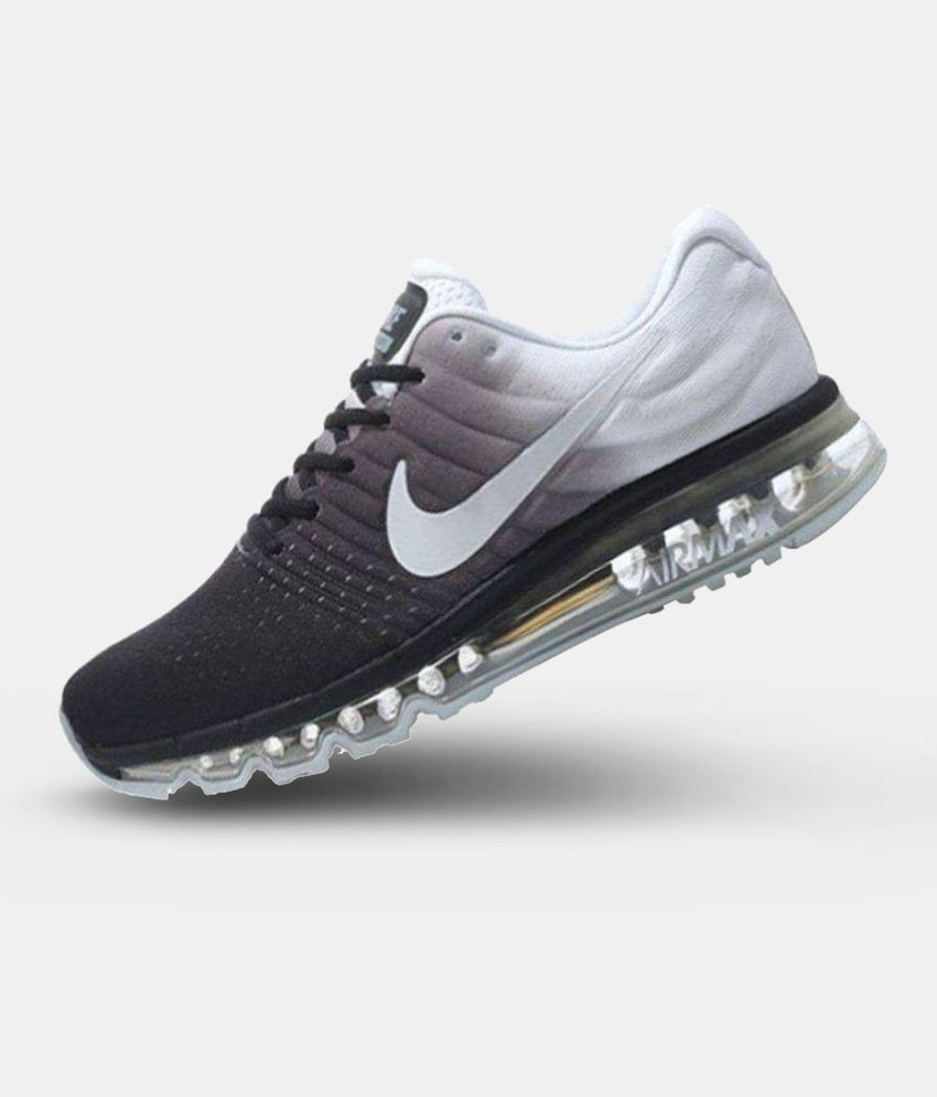 sports shoes e0589 f44a7 Nike Air Max 2017 White Running Shoes - Buy Nike Air Max 2017 White Running  Shoes Online at Best Prices in India on Snapdeal