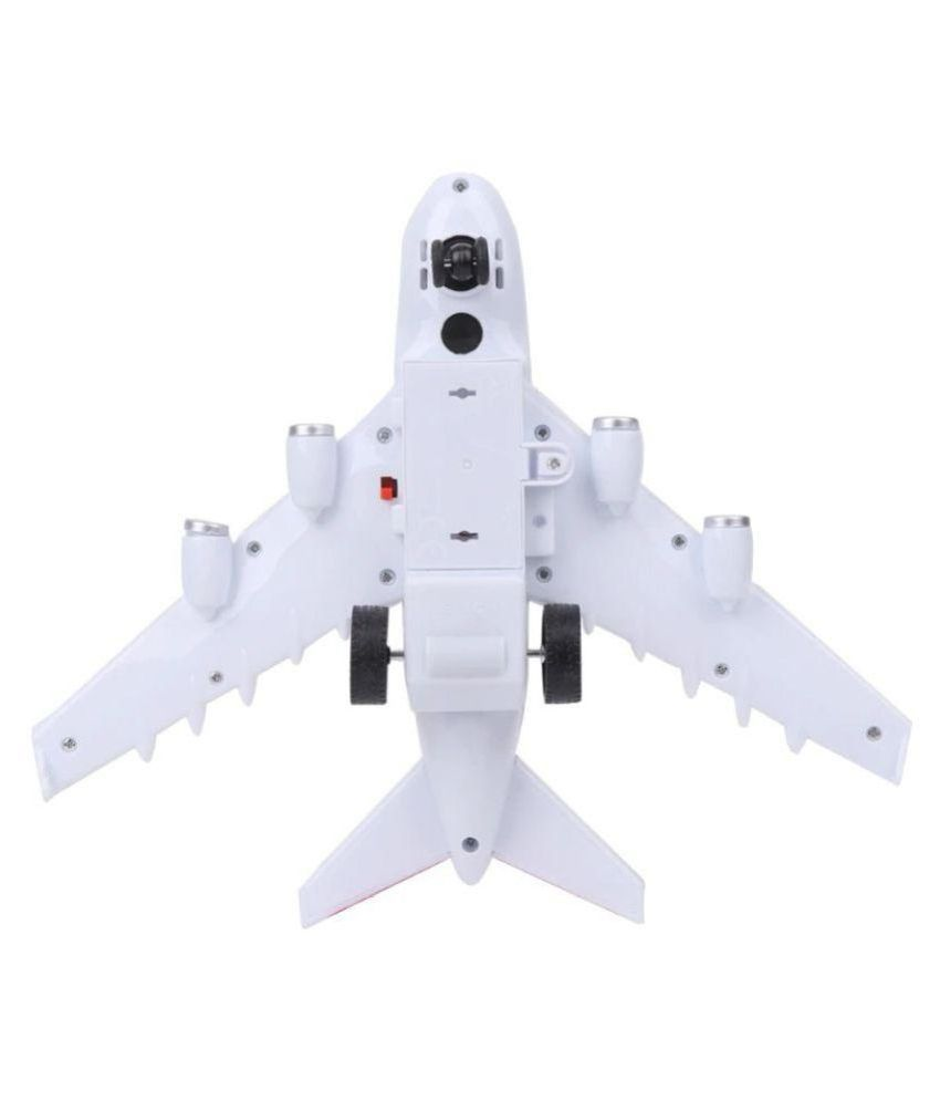 Smart Electric Air Bus Toy RC Battery operated 27 MHz with Flashing Lights  and Realistic Jet Engine Sounds