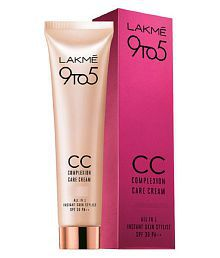 Lakme 9 to 5 Complexion Care CC Cream Day Cream 30 gm