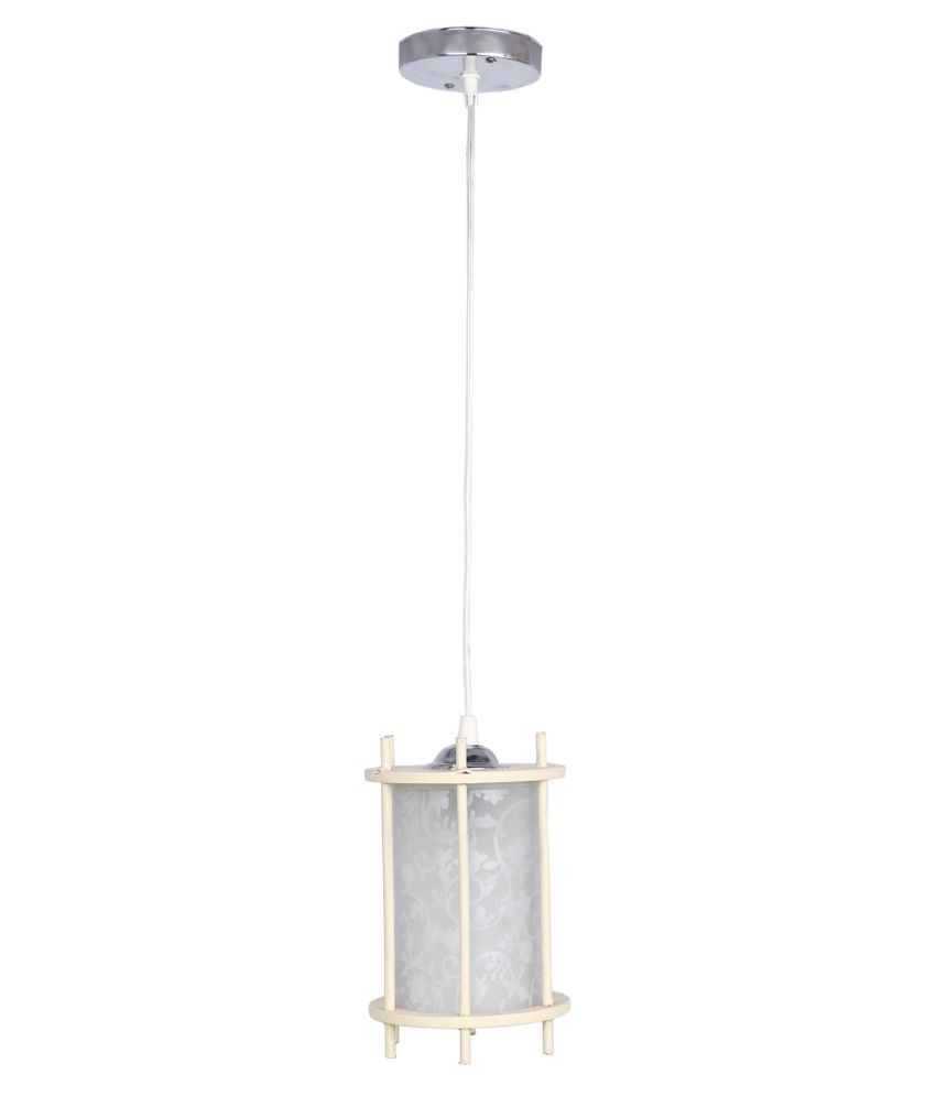 AFAST Glass Pendant White - Pack of 1