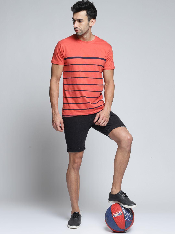 Dillinger Orange Half Sleeve T-Shirt