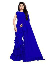 0b3a4e8b2f Blue Saree: Buy Blue Saree Online in India at low prices - Snapdeal