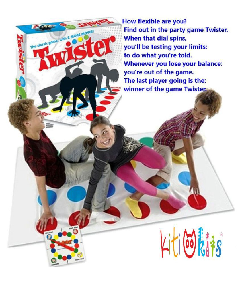 Kiti Kits Twister Cool Mat And Spinner Game