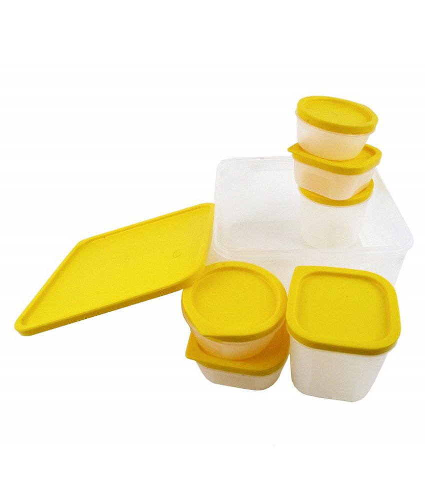 Aureum Polyproplene Food Container Set of 7 4000 ml