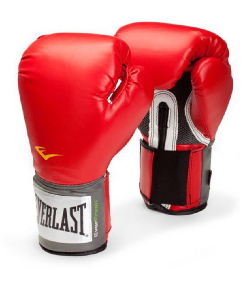 Everlast Pro Style Training Boxing Gloves 14oz Red