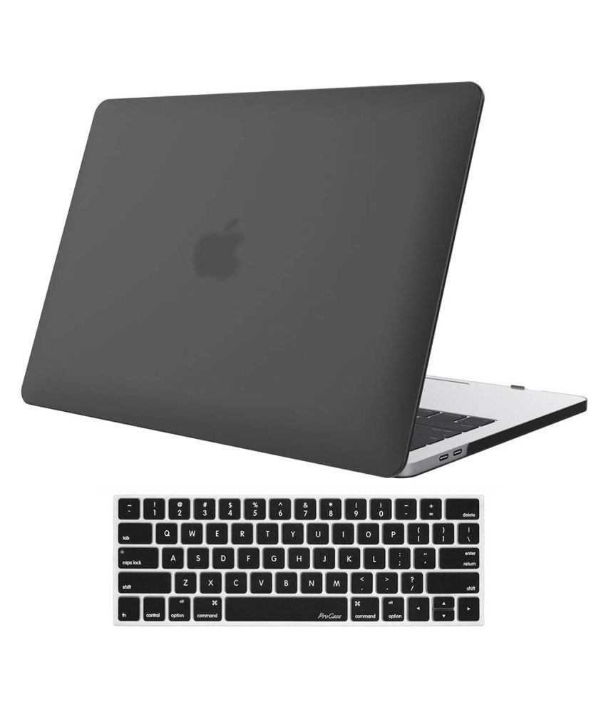 online retailer 48edd 0a66a Hard Shell Case for New MacBook Pro 13, 2018 2017 2016 Release A1989 A1706  A1708 with/Without Touch Bar and Touch ID with Free Keyboard Cover (Matt ...