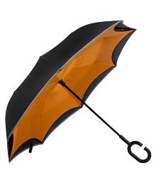 HOSHI UMBRELLAS Orange 1 Fold Umbrella