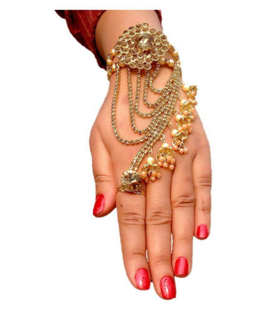 One Piece Single hand bracelet from Womensky Golden/Gold ...