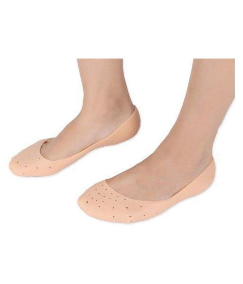 JAIDEN Moisturizing Silicone Socks for Cracked Heel Free Size