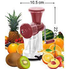 Fruit & Vegetable Manual Juicer-Maroon & White