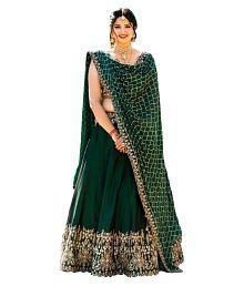 c940e24edb Green Lehenga: Buy Green Lehenga for Women Online at Low Prices in ...