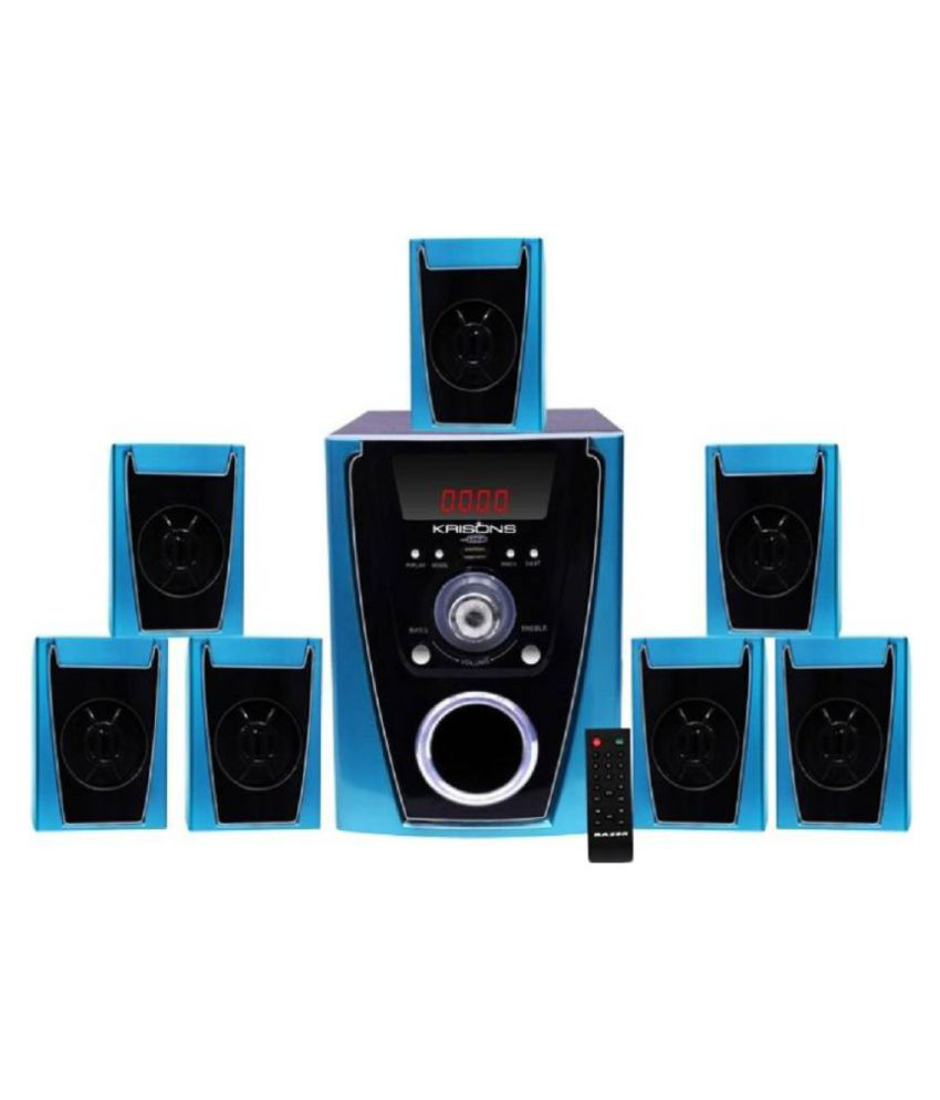 Buy Krisons Polo 7 1 Component Home Theatre System Online At Best Price In India Snapdeal