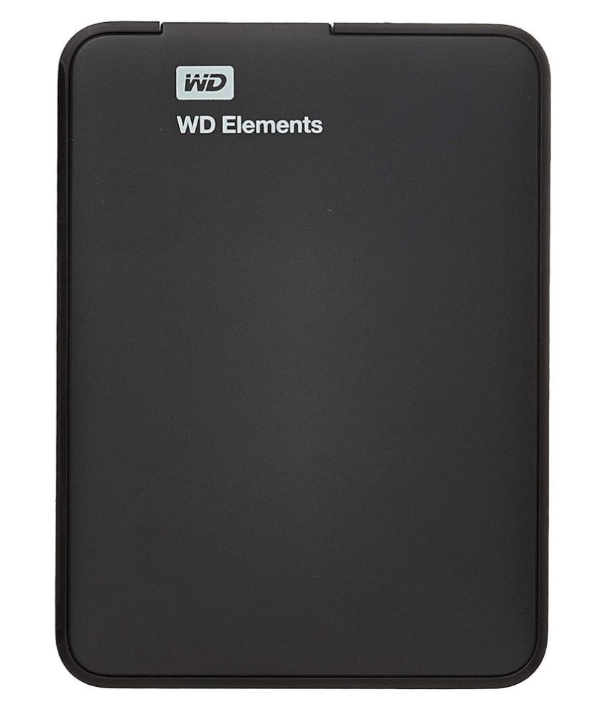 Western Digital Elements 1 TB USB 3.0 WDBUZG0010BBK-EESN Black