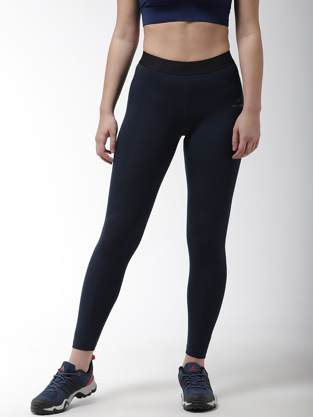 Alcis Polyester Blend Tights - Navy