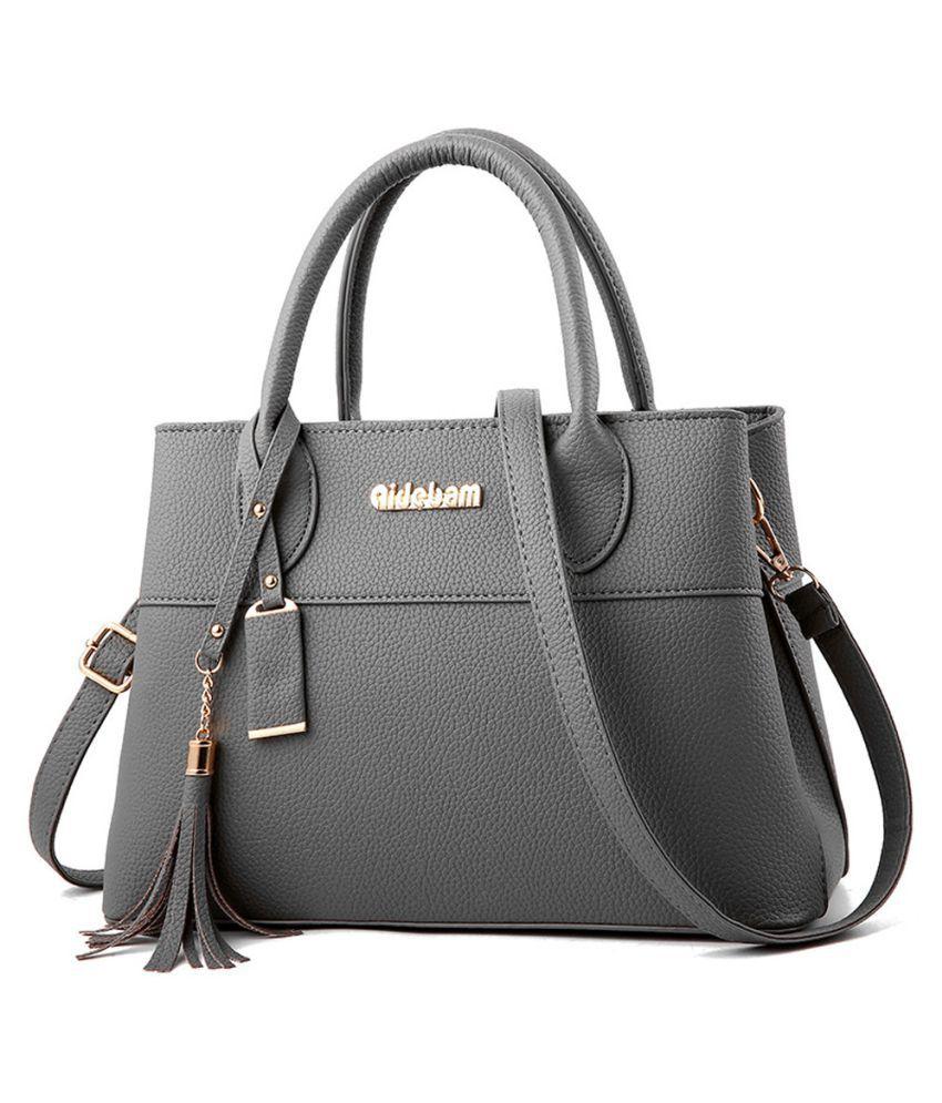 Pouches Bags and Storage for Your Fashion Needs Gray Fashion Women Tassels Crossbody Bag Shoulder Bag Messenger Bag Handbag Gray
