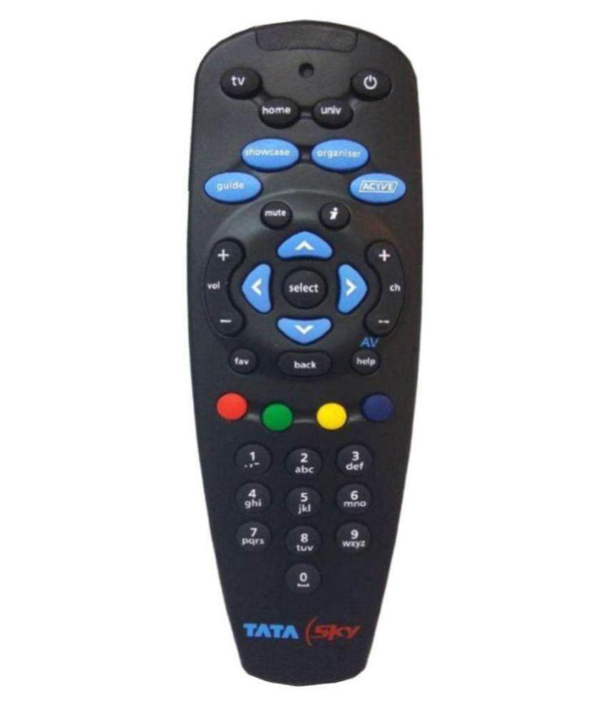 Gupta Tata Sky Remote Universal Remote Compatible with Tata Sky Remote