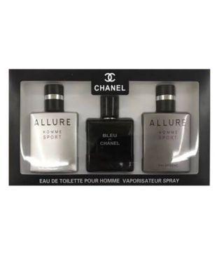 90415cfa Chanel Mini Perfume Set For Men Pour Homme Miniature Allure