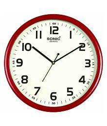 7f3b469aa 3D INDIA Circular Analog Wall Clock 3D TEDDY WITH HEART ( 27 x 2 cms ). Rs.  1