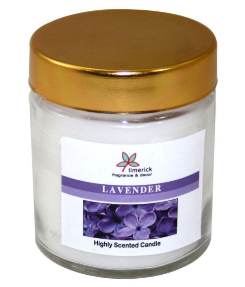 Limerick Home Purple Jar Candle - Pack of 1