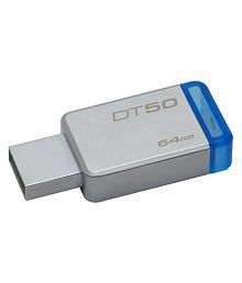 Kingston DT50 64GB USB 3.1 Utility Pendrive Pack of 1