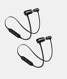Forever 21 mngt-21 Neckband Wireless Earphones With Mic(Pack of 2)