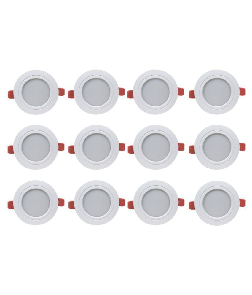 Bene 7W Round Ceiling Light 10.5 cms. - Pack of 12