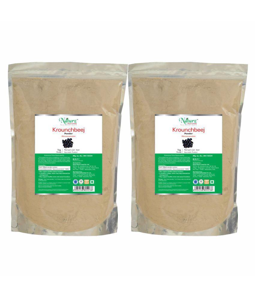 Naturz Ayurveda Krounchbeej Powder 1 kg Pack of 2