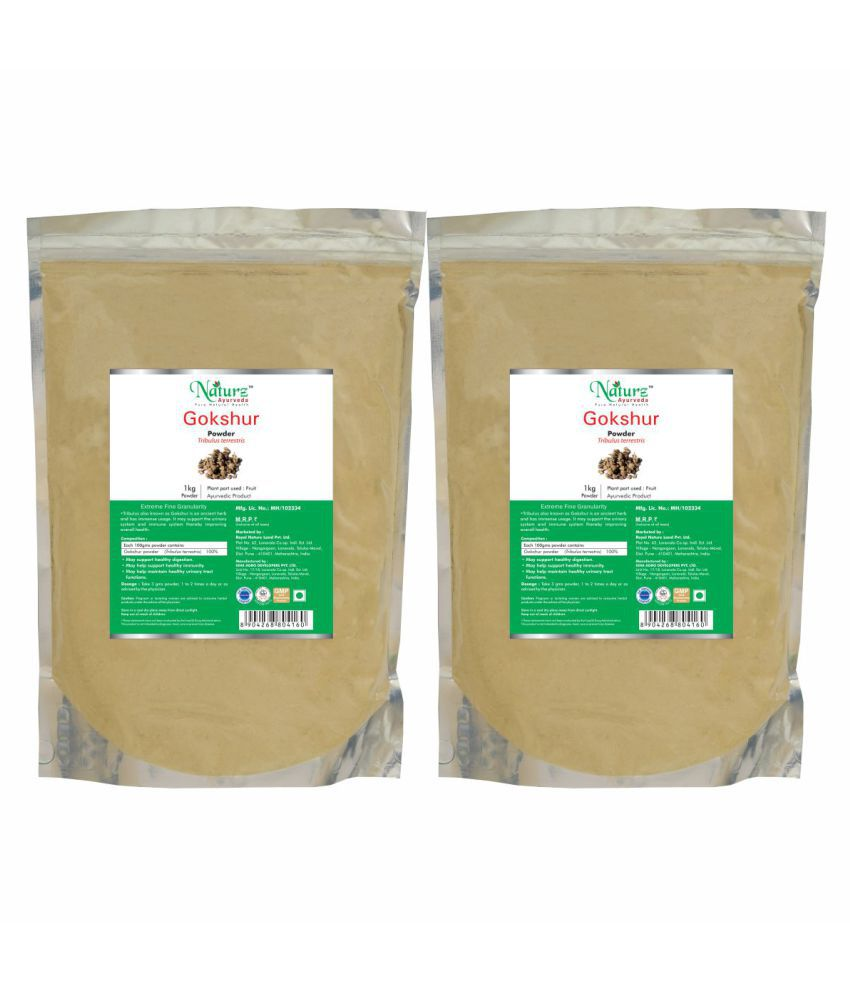 Naturz Ayurveda Gokshur Powder 1 kg Pack of 2