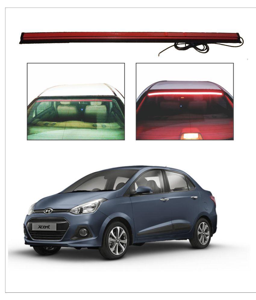 Trigcars Hyundai Xcent Roof line LED Third Brake Light Kit Above Rear Windshield