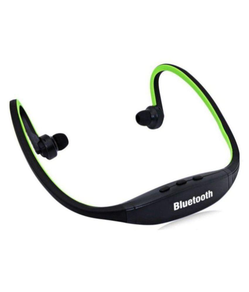 JAIDEN BS19 Headset Bluetooth Neckband Wireless With Mic Headphones/Earphones