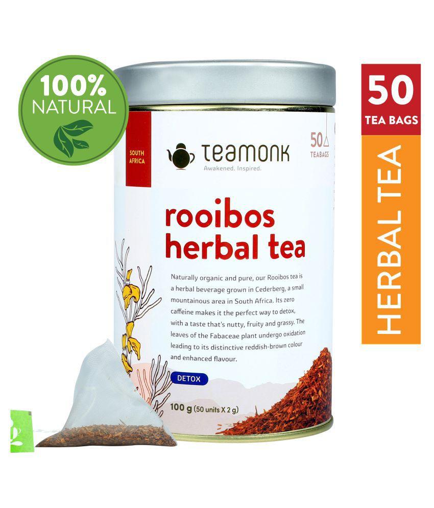 Teamonkglobal Rooibob Tea Loose Leaf 50 no.s