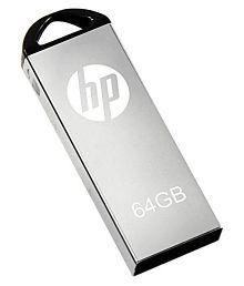 HP Flash Drive 64GB USB 2.0 Fancy Pendrive Pack of 1