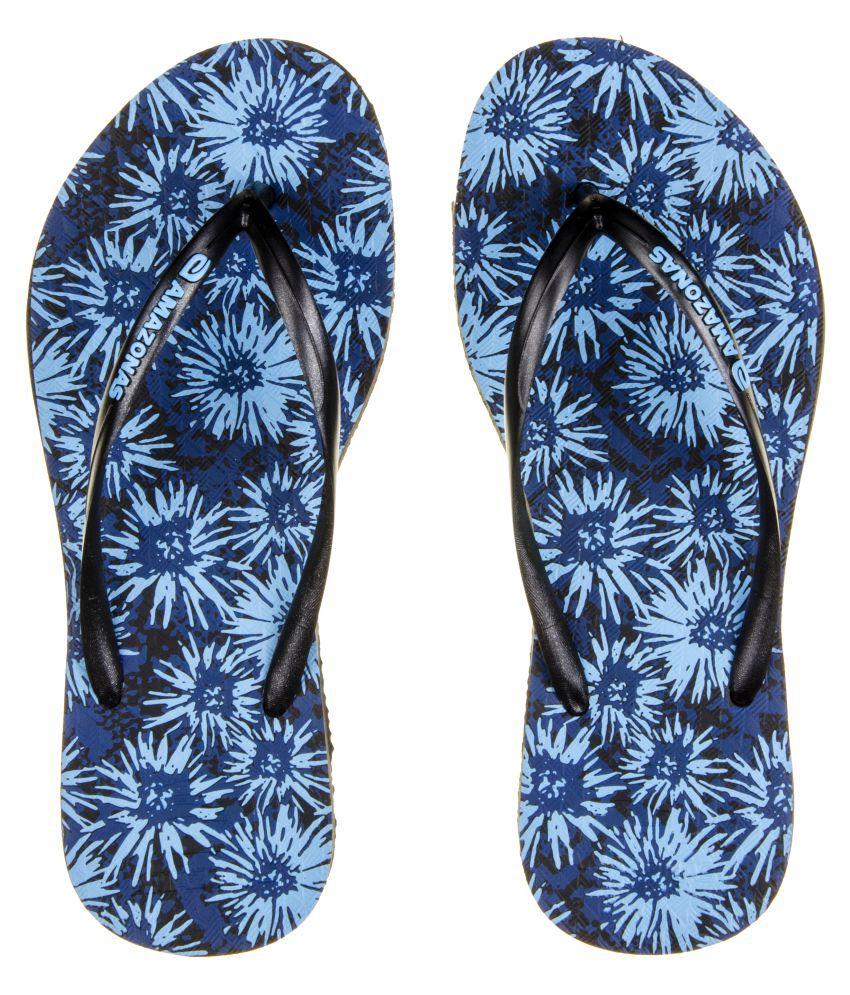 AMAZONAS Blue Slippers
