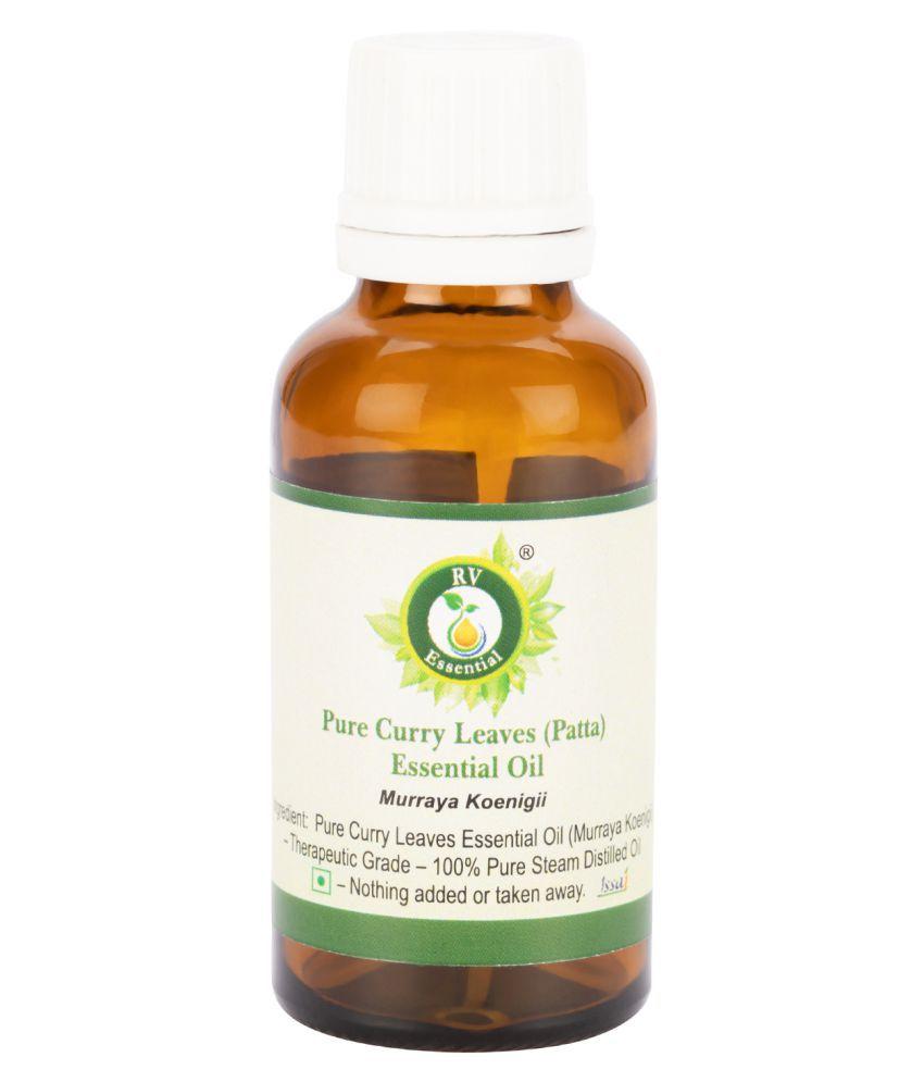 R V Essential Pure Curry Leaves (Patta) Oil Essential Oil 15 mL