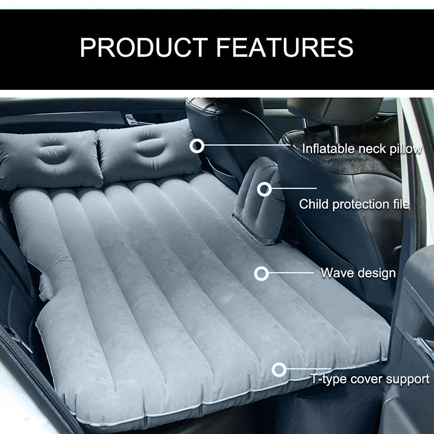 Car Travel Air Bed Best Quality Iinflatable Car Travel Bed Air Bed Inflatable Mattress