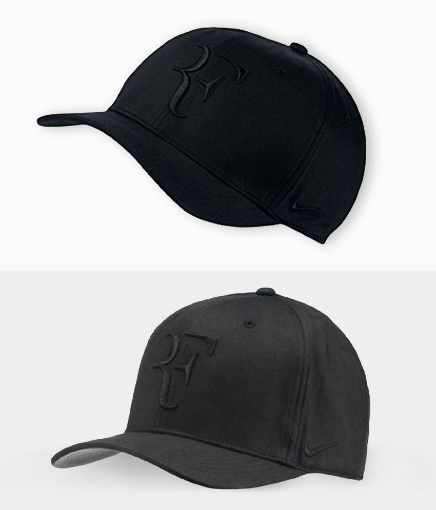 bdb84ae52 FAS RF Nike Black Embroidered Cotton Caps