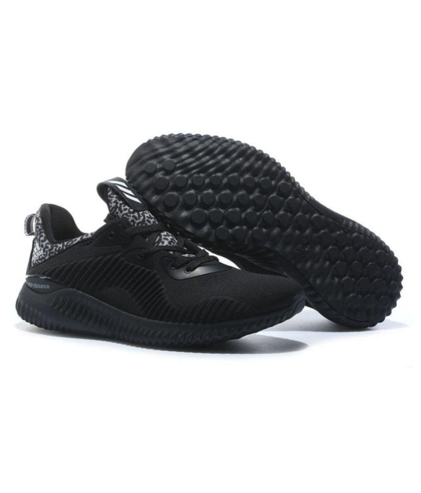 acheter en ligne 3dfa8 d7a95 Adidas Alpha Bounce Black Running Shoes