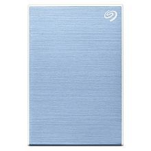 Seagate 1TB Backup Plus Slim Portable External Hard Drive with 2 Offers Inside (Light Blue) 2019 Edition