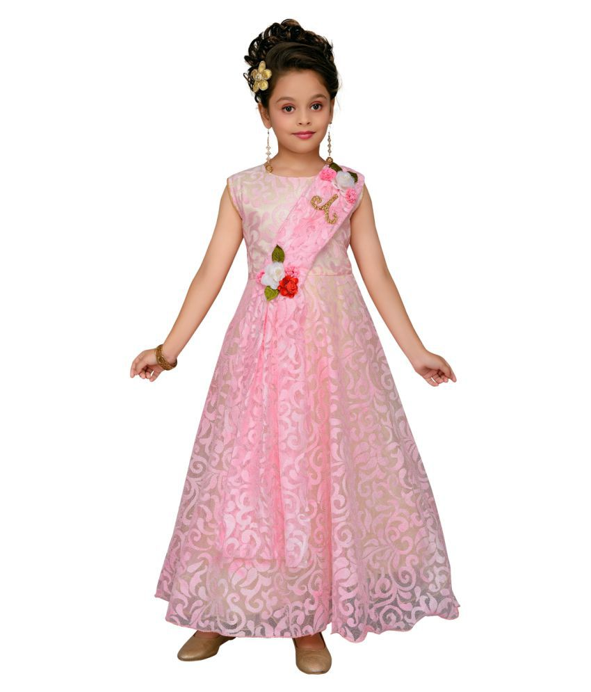 Aarika Girl's Party Wear Gown