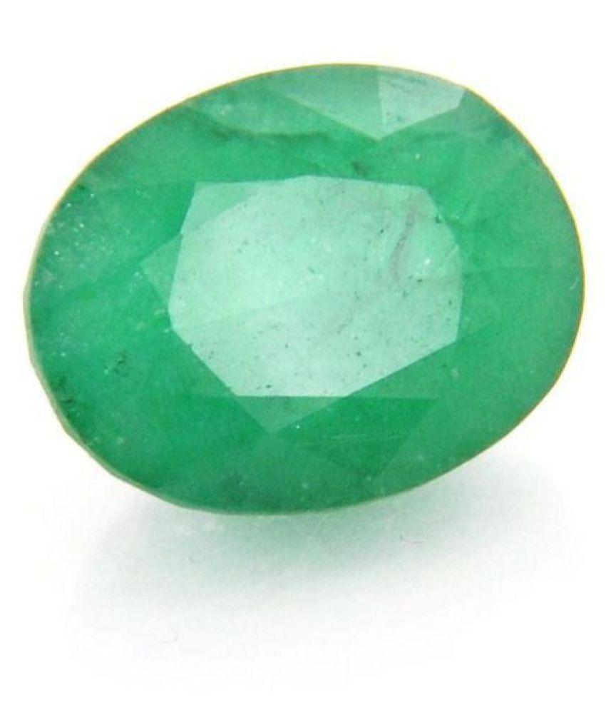 Oval Cut 6.25 Ratti Best Quality Emerald Panna Stone