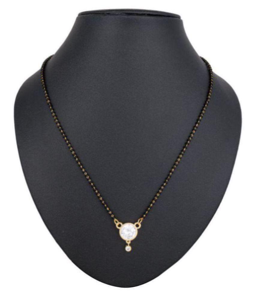 The Jaunty Penguin Deepika Style Mangalsutra: Buy The ...