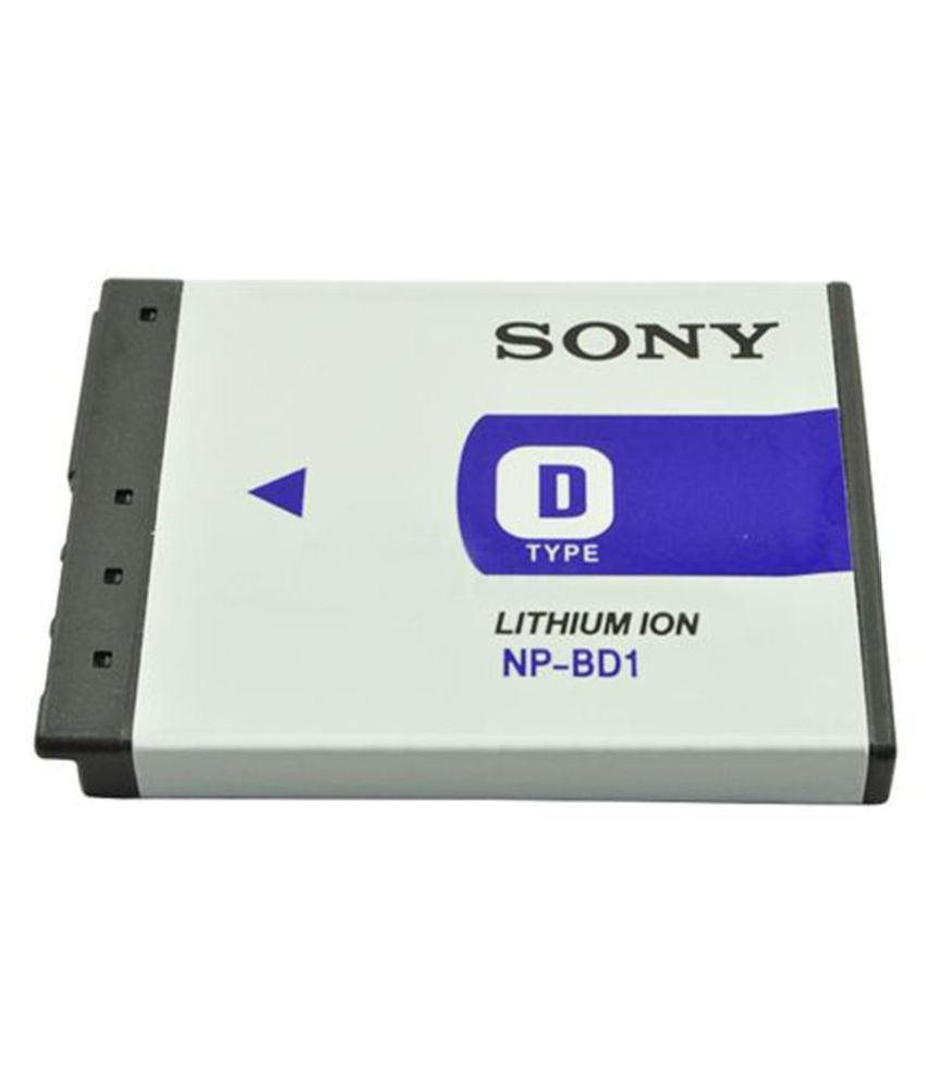 Sony NP BD1 630mAh Rechargeable Battery 1