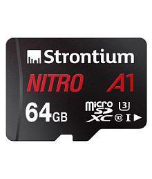 Strontium 64 GB Class 10 Memory Card