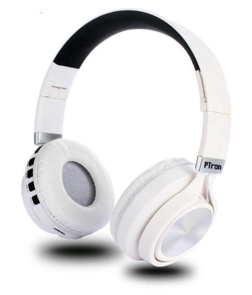 PTron Kicks Over Ear Wireless Headphones With Mic