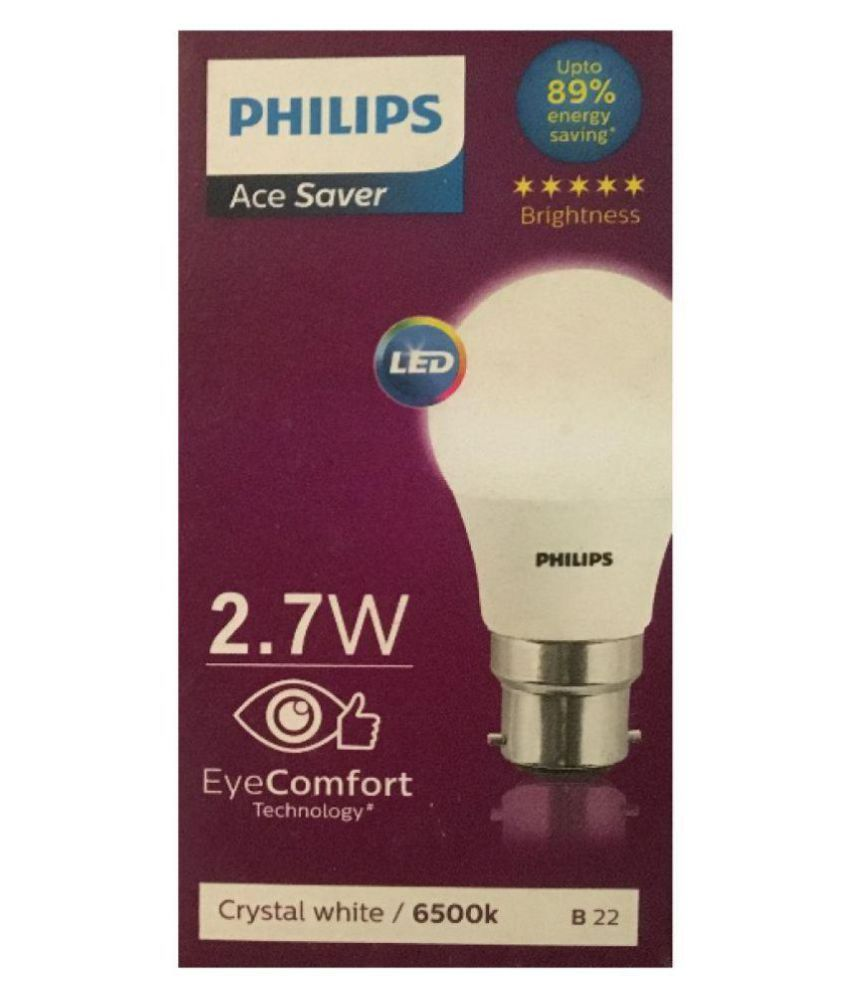 Philips 2 7w Led Bulb Cool Day Light Pack Of 3
