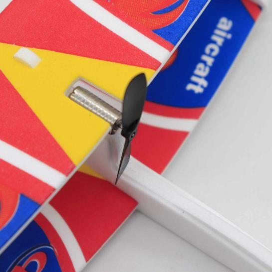 CrazyBuy DIY Hand Throw Flying USB Electric Power Motor Glider Foam  Aeroplane Outdoor Toy