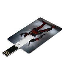 SmartNxt Credit Card Shape Designer 16GB Pen Drive -Movies - Deadpool