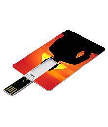 SmartNxt Credit Card Shape Designer 8GB Pen Drive -Religion - Buddha