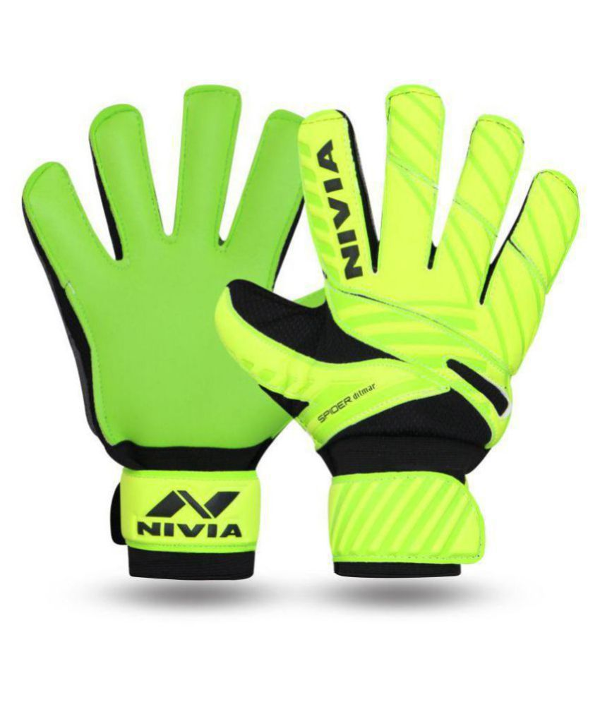 Nivia Ditmar Spider GoalKeeper Gloves Size  L